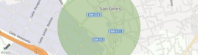 Mapa San Gines