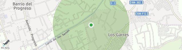 Mapa Barrio del Progreso