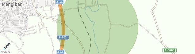 Mapa Mengíbar