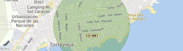 Mapa Torrevieja