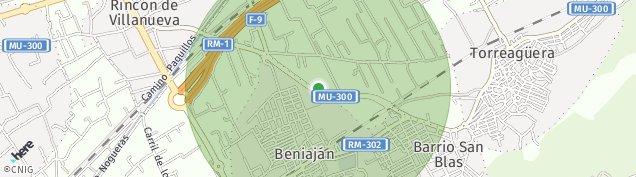Mapa Beniajan