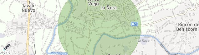 Mapa Javali Viejo