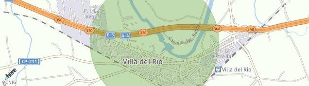 Mapa Villa del Río