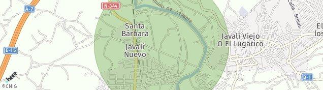 Mapa Javali Nuevo