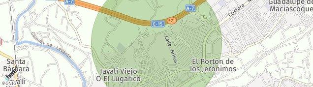 Mapa La Ñora