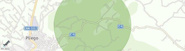 Mapa Pliego