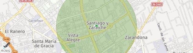 Mapa San Benito