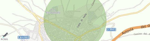 Mapa Baeza