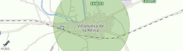 Mapa Villanueva de la Reina