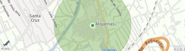 Mapa Alquerias