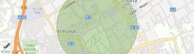 Mapa El Puntal