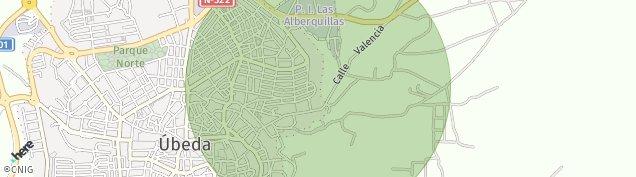 Mapa Úbeda