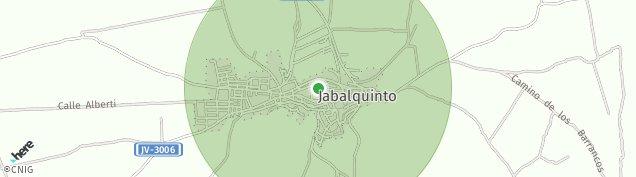 Mapa Jabalquinto