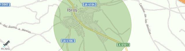 Mapa Ibros