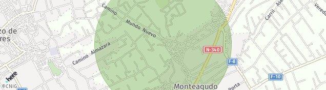 Mapa Monteagudo