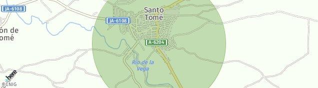 Mapa Santo Tomé
