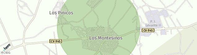 Mapa Los Montesinos