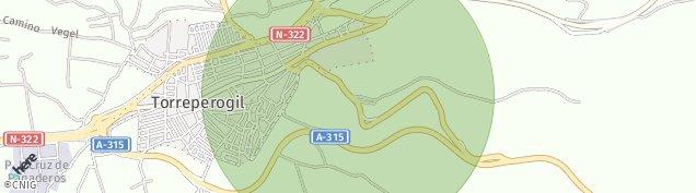 Mapa Torreperogil