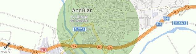 Mapa Andújar