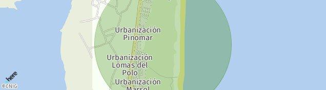 Mapa El Moncayo