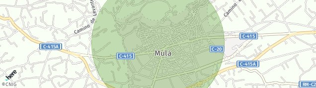 Mapa Mula