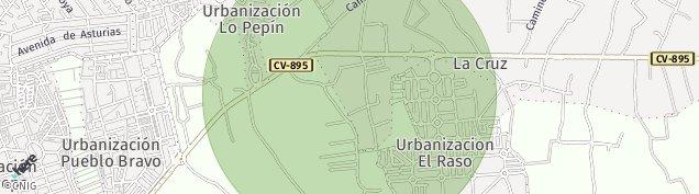 Mapa Ciudad Quesada