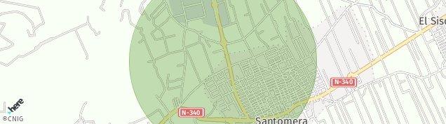 Mapa Santomera
