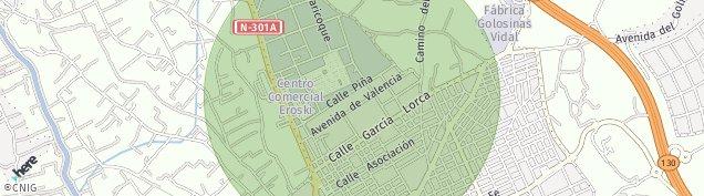 Mapa Molina de Segura