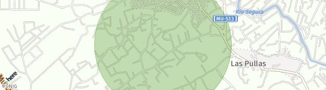 Mapa Estacion Alguazas