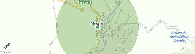 Mapa Mogon