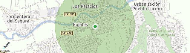 Mapa Rojales