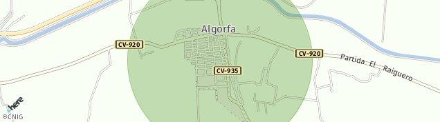 Mapa Algorfa