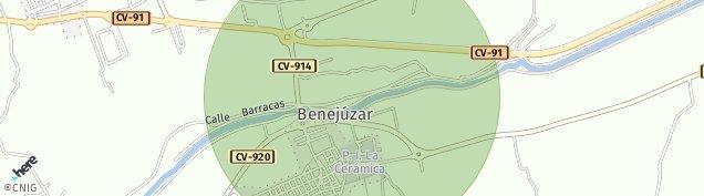 Mapa Benejúzar