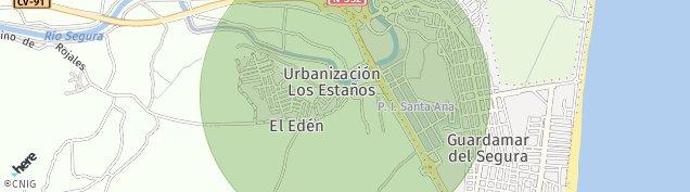 Mapa Guardamar del Segura