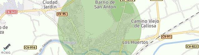 Mapa Orihuela
