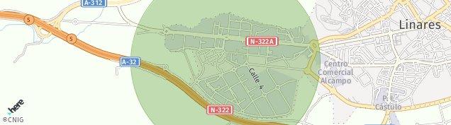Mapa Vega Santa Maria