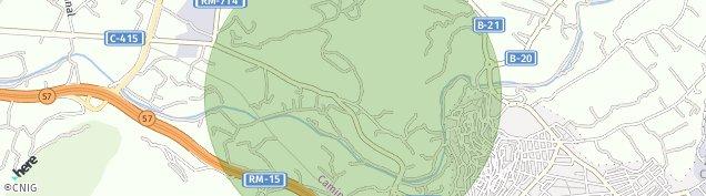 Mapa Cehegín