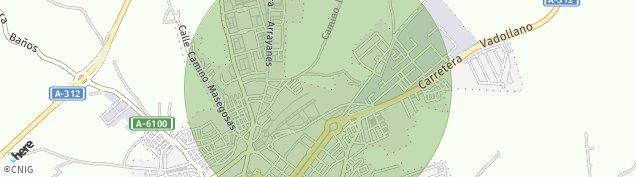 Mapa Linares