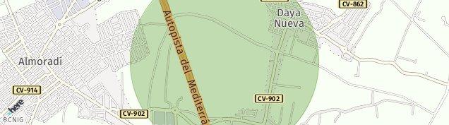 Mapa Daya Nueva