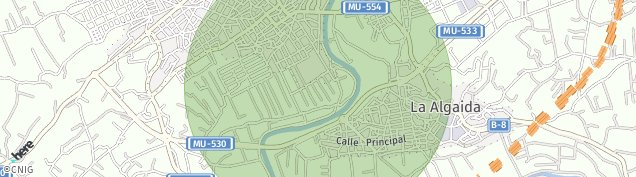 Mapa Archena