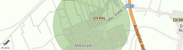 Mapa El Camino de Catral