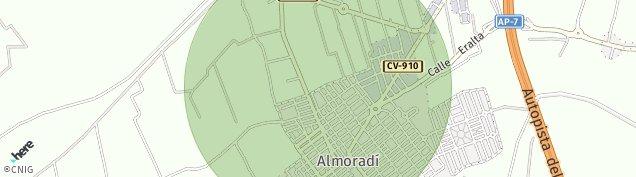 Mapa Almoradí