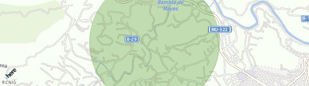 Mapa Fuente Morra