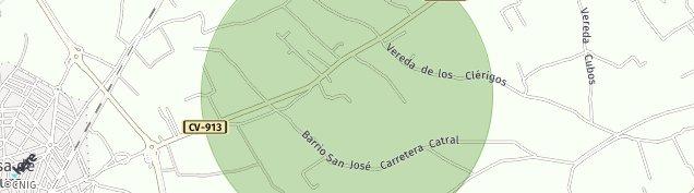 Mapa Callosa de Segura