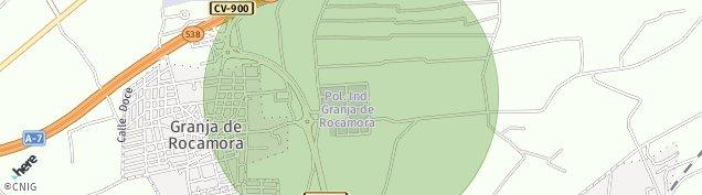 Mapa Granja de Rocamora
