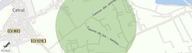 Mapa Catral
