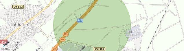 Mapa Albatera