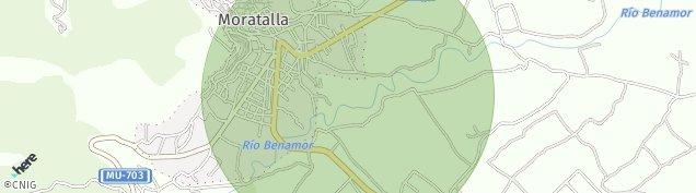 Mapa Moratalla
