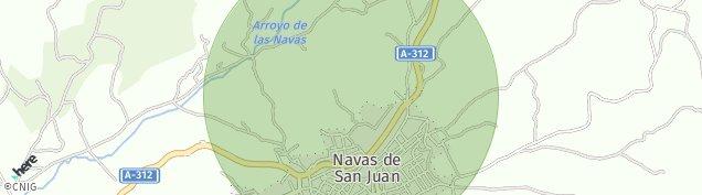 Mapa Navas de San Juan