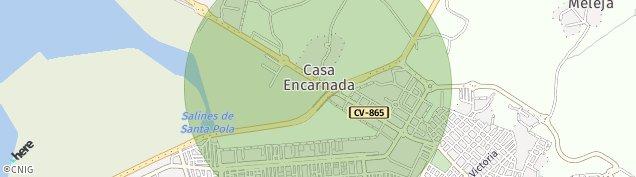 Mapa Playa Lisa